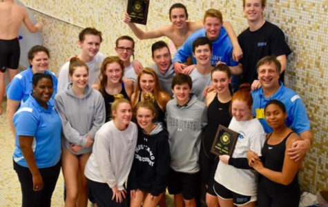 Mustang Swimming State Competition