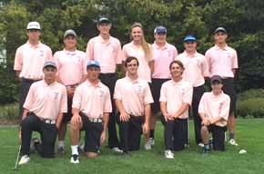 Golf Team Knocks Down Undefeated Aberdeen