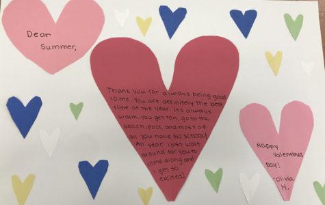 "Valentine to my ""love"""