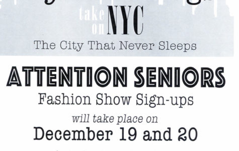 Seniors Needed for Fashion Show