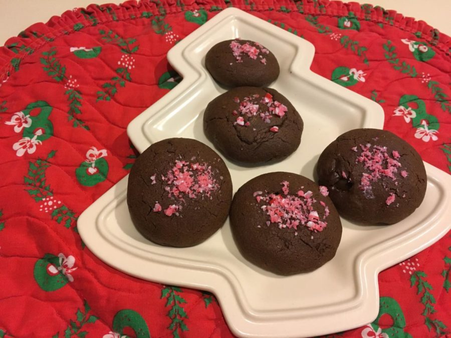 Chocolate+Peppermint+Cookies