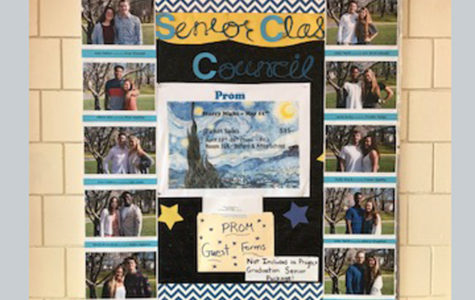 Prom Court Featured on SCC Board