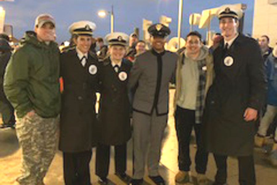 C.+Milton+Grads+Represent+at+the+Army-Navy+Game